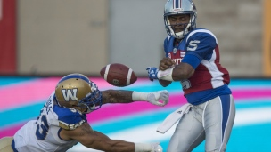 Blue Bombers 32 - Alouettes 18
