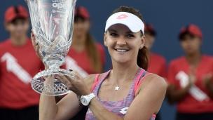 Radwanska championne au Connecticut