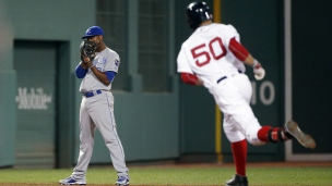 Royals 3 - Red Sox 8