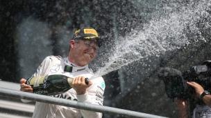 Rosberg résiste à la remontée de Hamilton