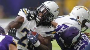 Chargers 10 - Vikings 23