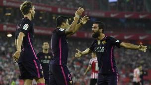 Athletic Bilbao 0 - FC Barcelone 1