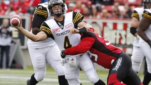 Tiger-Cats 24 - Stampeders 34