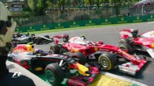 Une course frustrante pour Verstappen