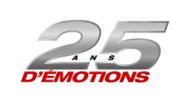 Logo 25 ans d'émotions