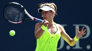 US Open : Bouchard ne fait que passer
