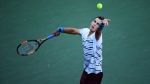 Pospisil et Raonic en action à Flushing Meadows