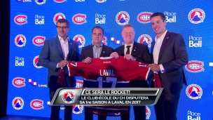 Ce sera le Rocket de Laval
