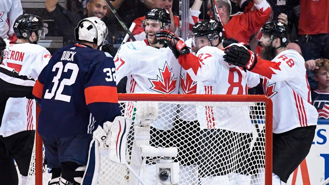 Coupe du monde de hockey affrontement entre les tats unis et le canada - Coupe du monde etats unis ...