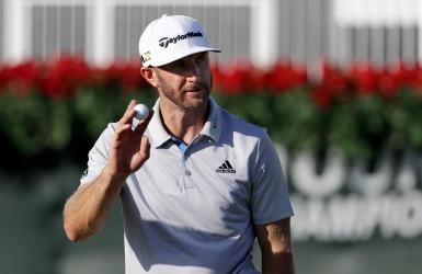 PGA : Dustin Johnson élu joueur de l'année