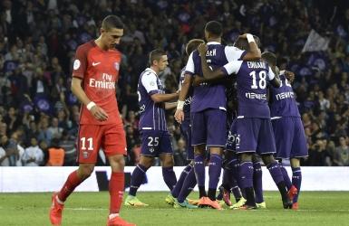 Ligue 1 : le Paris SG sombre à Toulouse