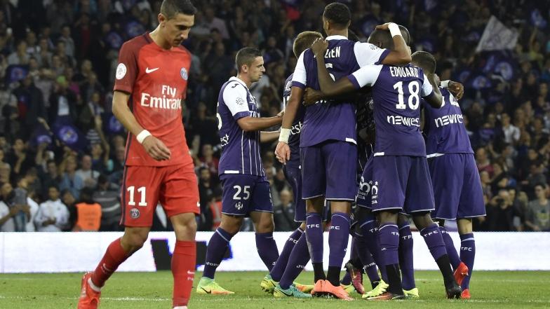Les joueurs de Toulouse