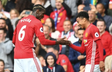 Pogba marque; Man U assomme Leicester