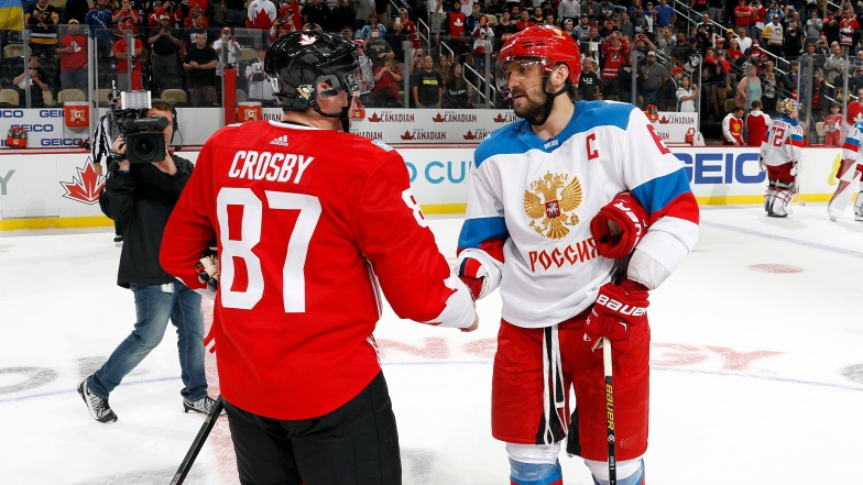 Sidney Crosby et Alex Ovechkin