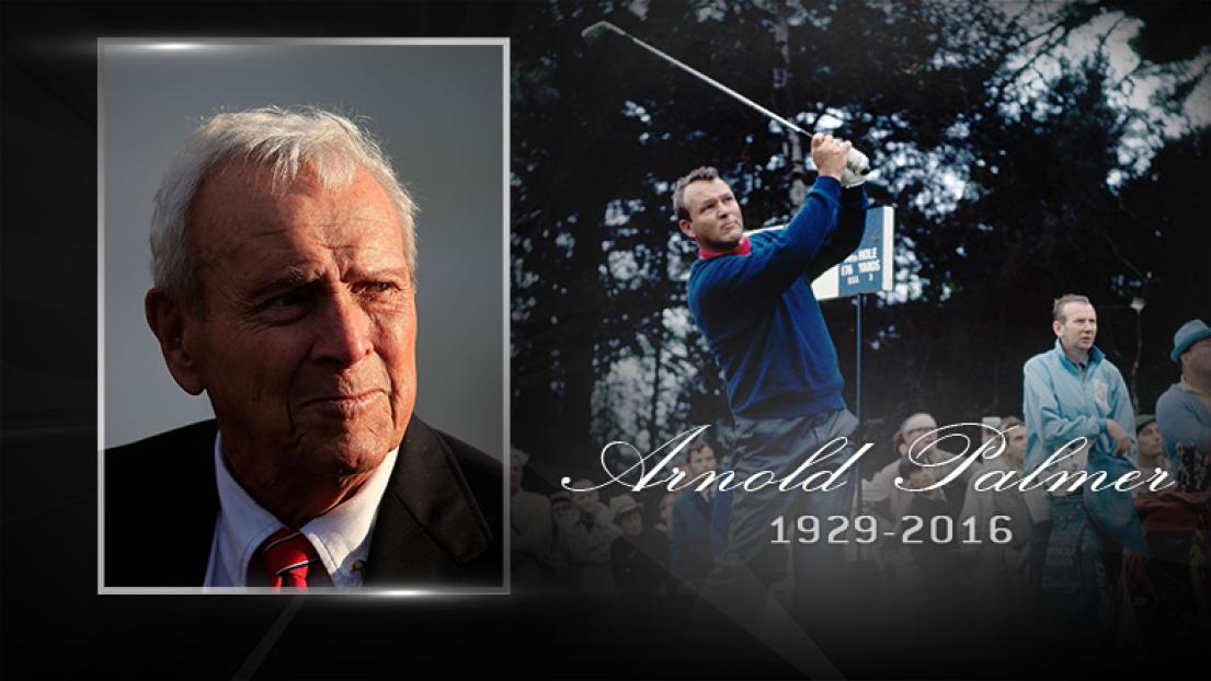 Disparition de la légende du golf Arnold Palmer à 87 ans