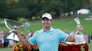 Rory McIlroy remporte la Coupe FedEx
