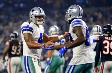 Les Cowboys brillent sous les projecteurs