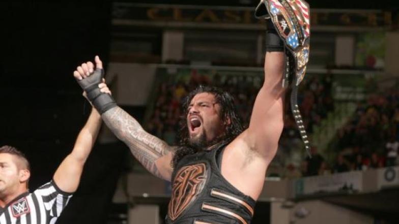 Roman Reigns champion US