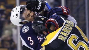 Blue Jackets 3 - Bruins 2