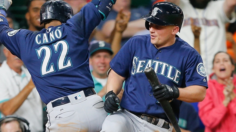 Robinson Cano et Kyle Seager