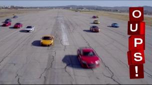 Oups! Course entre les voitures les plus rapide