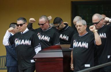 Un dernier hommage pour Jose Fernandez