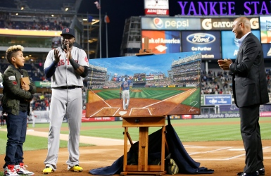 MLB : Les Yankees honorent David Ortiz