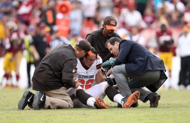 La liste des blessés des Browns s'allonge