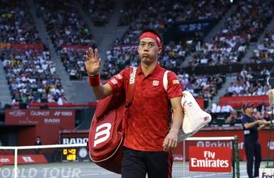 Kei Nishikori forcé d'abandonner chez lui