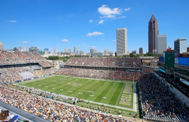 L'Atlanta United au Bobby Dodd Stadium