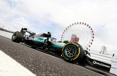 Essais F1 : Rosberg le plus rapide au Japon