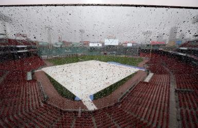 Le 3e match Indians-Red Sox remis à lundi