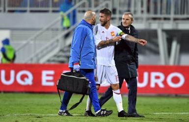 Sergio Ramos absent au moins un mois