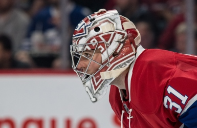Carey Price au repos forcé