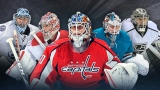 Ben Bishop, Carey Price, Braden Holtby, Martin Jones et Jonathan Quick
