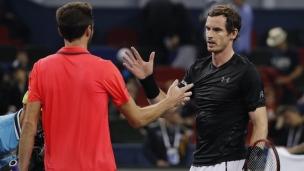 Andy Murray accède à la finale à Shangai