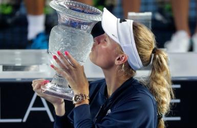Wozniacki remporte son 2e titre de l'année