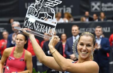WTA : Dominika Cibulkova sacrée à Linz