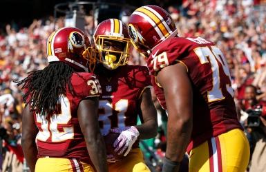 Les Redskins rossent la défense des Eagles