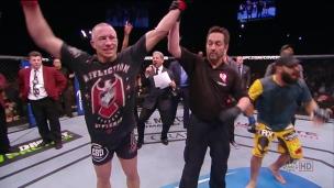 Cormier et Johnson croîent au retour de GSP dans l'UFC
