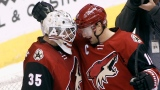 Louis Domingue et Shane Doan