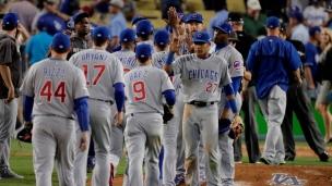 Cubs 8 - Dodgers 4