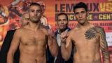 David Lemieux et Cristian Fabian Rios