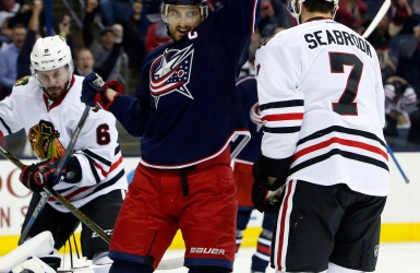Les Blue Jackets surprennent les Blackhawks