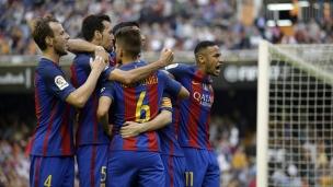 Valence 2 - Barcelone 3