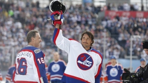 Selanne se donne en spectacle