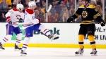 Le Canadien tient le coup face aux Bruins