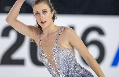 Ashley Wagner ne touche plus terre