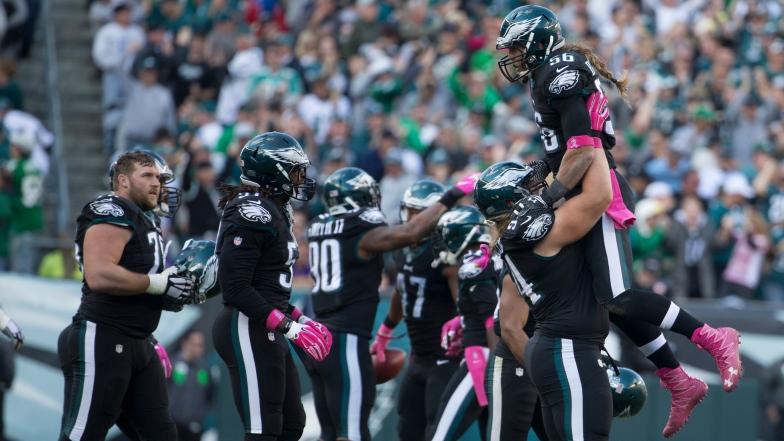 Les unités spéciales et la défense des Eagles les ont conduits à la victoire face aux Vikings