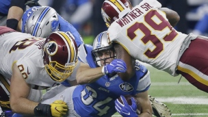 Redskins 17 - Lions 20